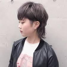画像付きツーブロックアシメの女子の髪型16選ロングボブ Cuty