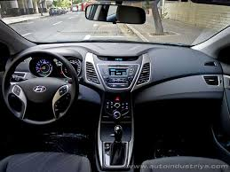 hyundai elantra interior 2014. go inside and the interior layout is pretty much identical as before save for relocated aircon vents on center stack which have been pulled hyundai elantra 2014