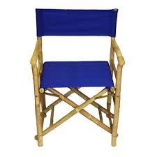 handmade set of 2 bamboo director x27 s chairs vietnam