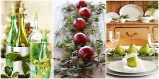 Charming Easy Make Christmas Table Decorations 15 On Modern House with Easy  Make Christmas Table Decorations