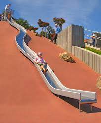 curved slide playground equipment