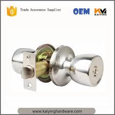 Ss304 Door Knob Lock For Wooden Door Round Type For Bathroom inside  proportions 1000 X 1000