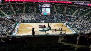Breslin Center Section 210 Home Of Michigan State Spartans