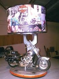 wonderful motorcycle table lamps picture concept