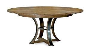jupe dining table hammered iron base best round dining table 2018