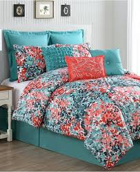 turquoise duvet covers queen vcny home capri 10 piece queen comforter set bring a vibrant look
