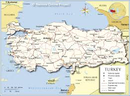turkey country map surrounding countries. Wonderful Turkey Political Map Of Turkey On Country Surrounding Countries Nations Online