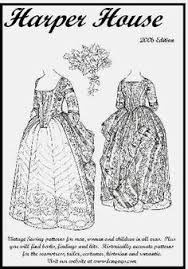 Historical Patterns Gorgeous View Of A Lady's Cuirasse Waist Or Bodice March 48 Patterns