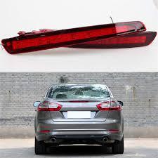 2011 Ford Fusion Warning Lights Amazon Com Aijiche Brake Light Led Rear Bumper Reflector