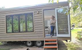 Finally Completed, Tiny House, An Eco-friendly Design And Lifestyle  Concept, Is Rolling On - Capital Gazette
