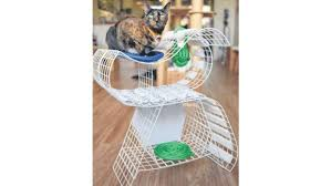 chic cat furniture. Brilliant Cat Grids By Mr Andrew Loh Is Meant To Be A Versatile Piece For Cats Play  And Rest On ST PHOTO FELINE LIM For Chic Cat Furniture