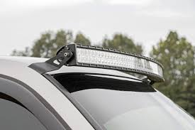 54in Curved LED Light Bar Upper Windshield Mounting Brackets for ...