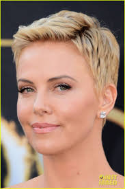 Charlize Theron Short Hair Style 15 best celebrity women with fierce short hair images on 5266 by wearticles.com