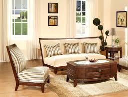 Traditional Living Room Chairs Elegant Curved Back Seater And Wooden Frames Added Fabric Top