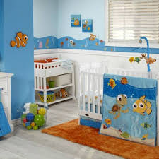 beautiful finding nemo crib bedding