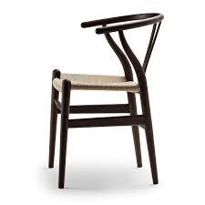 carl hansen chairs. The Carl Hansen - CH24 Wishbone Chair, Dark Oak / Natural Wicker Chairs R