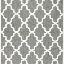 trellis rug machine made outdoor grey handmade striped white nuloom moroccan geometric fancy area wh
