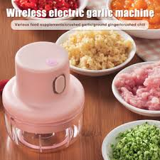 Wireless <b>Mini Electric Garlic</b> Food Chopper Ginger Vegetable ...