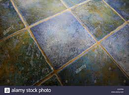 Floor Tiles Uk Kitchen Blue Kitchen Floor Tiles England Uk Stock Photo Royalty Free
