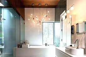 bathroom chandelier lamp lighting ideas with matching view gallery of fixtures showing drop dead gorgeous bath