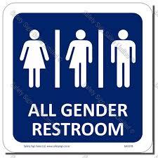 restroom signs. Delighful Restroom CYOGA137B  Gender Neutral Sign U2013 Toilet In Restroom Signs
