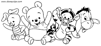 Small Picture Winnie The Pooh Coloring Pages Bestofcoloringcom