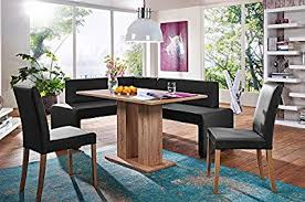 Dining nook furniture Floor Seating Image Unavailable Amazoncom Amazoncom German Furniture Warehouse Piece Modern Dining Set