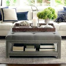 Decorating An Ottoman With Tray Mesmerizing Decorative Trays For Ottomans Large Decorative Trays 21