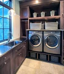 beautiful washer dryer closet design exciting ll laundry room ideas with stacked