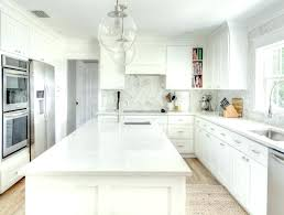 Carrara Marble Countertop White Cabinets With Kitchen   Countertops I68