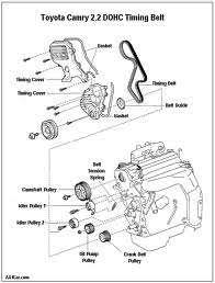 solved diagram for replacing alternator belt on 1998 fixya toyota tacoma timing belt posision