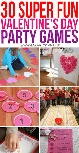 Game party teen valentine
