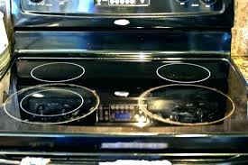 cleaning electric glass top stove replacement burners burner whirlpool