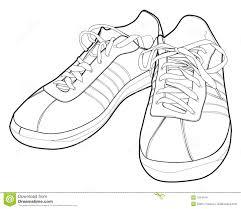 Kleurplaat Kleurplaat 19106 Kleurplaat Schoenen Nike Schoen Vumszpq