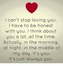 I Can't Stop Loving You I Have To Be Honest With You Think About You Simple Love U Cant Have
