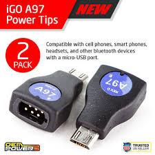 2x Igo Power Charger Tip 704 For Lenovo Laptops 9 75
