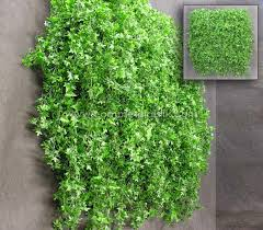 artificial green wall plant panels silk faux