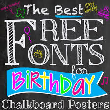 Free Birthday Posters Dingbats Gallery Craftgawker
