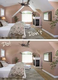 decorating walls in room with vaulted ceiling home combo ou have to consider wall color architecture light and
