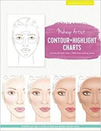 Makeup Artist Contour Highlight Charts The Beauty Studio