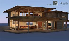TD3 2400 by Turkel Designs for Lindal Cedar Homes and the Dwell Homes  Collection