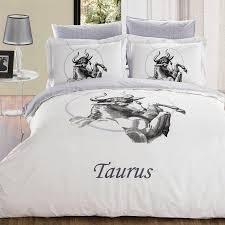 zodiac horoscope taurus 6 piece full double duvet cover set
