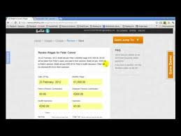 Bullet Online Accounting Payroll Calculator Youtube