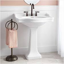 types of bathroom sinks materials white large pedestal sink
