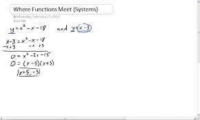 solving a quadratic linear system