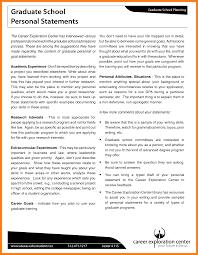 Personal Statement Grad School Samples Grad School Essay Examples Grad School Personal Statement