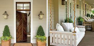 image of best front porch hanging light height