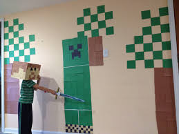 Minecraft Party Decorations Minecraft Party Games Beingnormalwithmss Blog