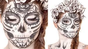 1280x720 sugarskull sketch makeup tutorial