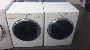 kenmore he washer. kenmore he2 white front load washer w/ gas dryer set kenmore he washer